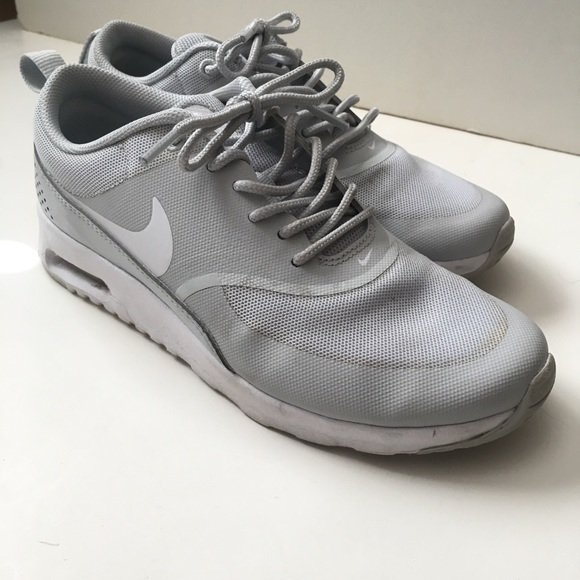 reputable site 68a53 bcaf7 Nike Air Max Thea Sneaker in Light Gray. Nike. M 5bad24c3c9bf50b5bc4b58f6.  M 5bad24c5d6dc52a9e33b8123. M 5bad24c62beb79c38ca74b2a